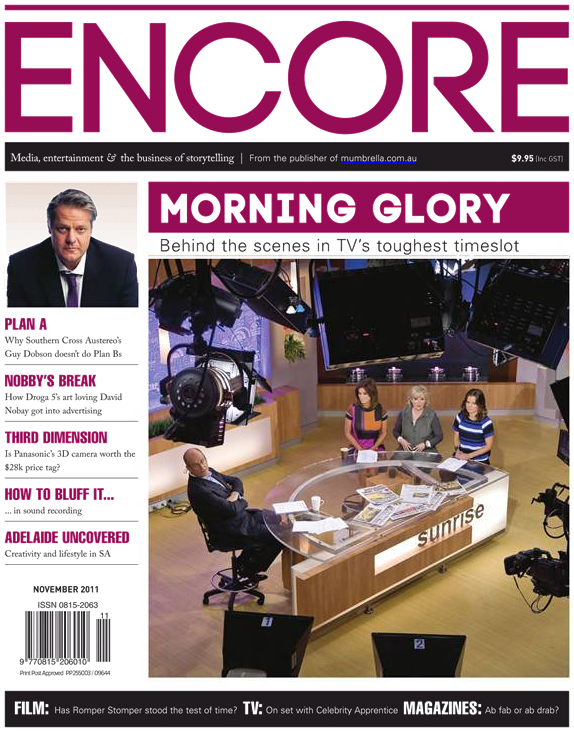 Introducing the new Encore    encore cover